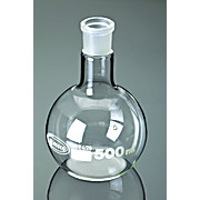 Thumbnail Image for Borosilicate Glass Flat Bottom Boiling Flasks with Ground Glass Joints