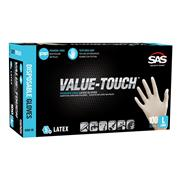 Value-Touch™ Powder-Free Latex Disposable Gloves