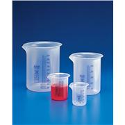 Thumbnail Image for Griffin Beakers - Low Form, PP, Blue Printed Graduations