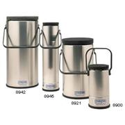 Thumbnail Image for Cylindrical, Wide Mouth Dewars with Metal Handles
