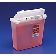 Thumbnail Image for SharpSafety™ Safety In Room Sharps Containers with Counter Balanced Lid