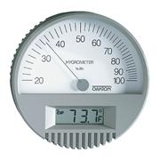 Wall Mount Thermohygrometer with Digital Thermometer