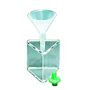 Thumbnail Image for Hollow Acrylic Prism,w/ Funnel & Stopper