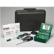 Thumbnail Image for pH Meter with Electrode/Temp Probe/Case
