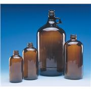 Thumbnail Image for Amber Safety Coated Bottles