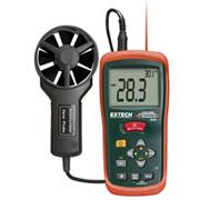 Thumbnail Image for Anemometer, CFM / cmm w / Built-In Ir Therm °F