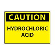 Thumbnail Image for Hydrochloric Acid Caution Sign