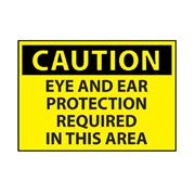Thumbnail Image for Eye And Ear Protection Area Caution Sign