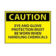 Thumbnail Image for Eye & Glove Protection Caution Sign