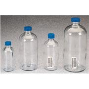 Thumbnail Image for Boston Round Clear Glass Bottles
