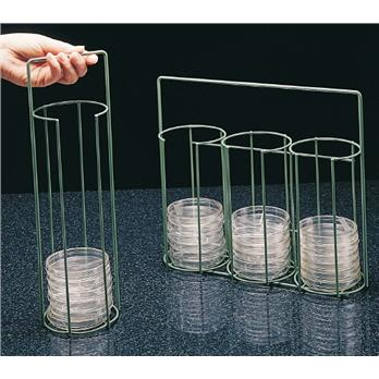 Image of Scienceware® Poxygrid® Petri Dish Carrying Rack