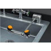 AutoFlow™ 90º Swing-Down Deck-Mounted Eyewash