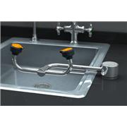 AutoFlow™ 90° Swivel Deck-Mounted Eyewash