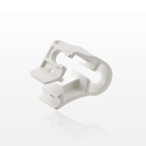 Side Load Pinch Clamp, White