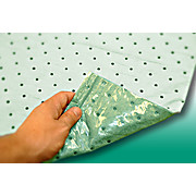 "Thumbnail Image for safeForce PB100G Light Weight Green Spunbond/Meltblown/Poly-Backed Pad 32"" x 64"" - 20/Bag"