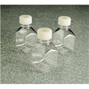 Thumbnail Image for Square PETG Media Bottles with Septum Closure: Sterile, Shrink-Wrapped Trays