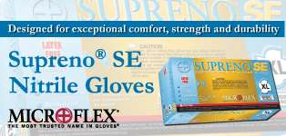 Microflex Supreno Gloves